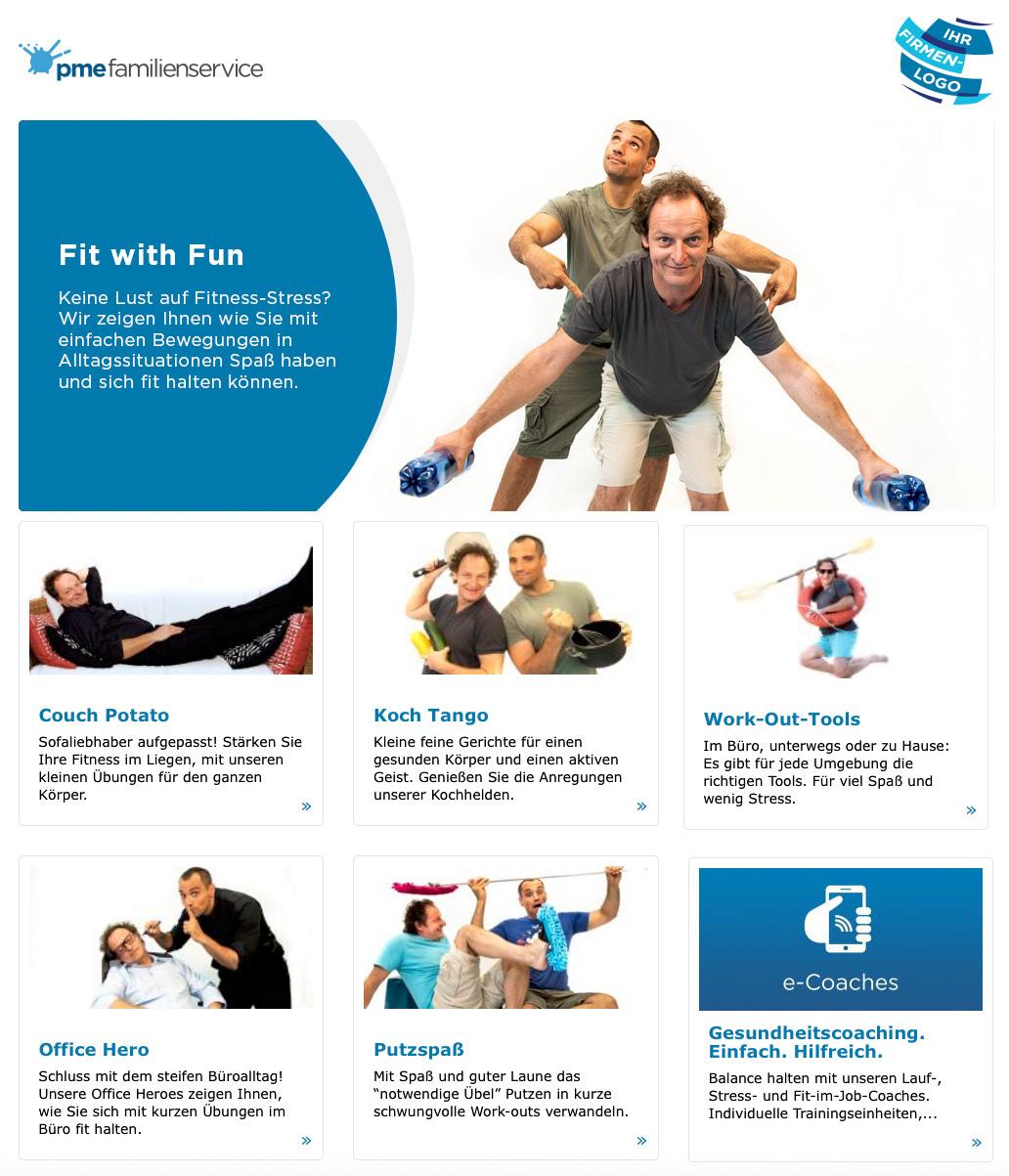 Online-Programm pme Familienservice